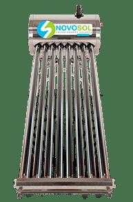 Calentador Solar 3 Personas Novosol ,calentador-8-tubos-novosol
