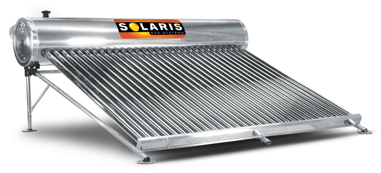 Calentador Solar 10 personas 30 tubos marca solaris calentador solar solaris