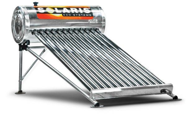 Calentador Solar para 4 personas 10 tubos marca solaris calentador solar solaris