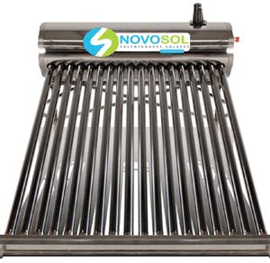 Calentador Solar Para 6 Personas Novosol,calentador-18-tubos-novosol