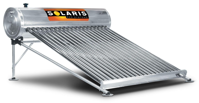 Calentador Solar para 7 personas 20 tubos marca solaris calentador solar solaris