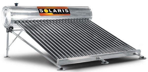 Calentador Solar 8 personas 24 tubos marca solaris calentador solar solaris