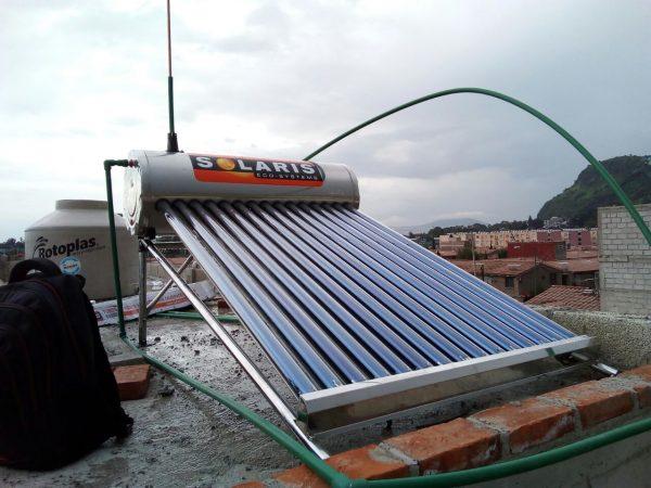 como instalar un calentador solar, instalacion de calentador solar